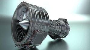resolution turbo fan cfm56 3D