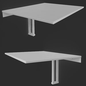 3D table wall norberg