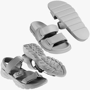 3D mesh shoes 28 - model