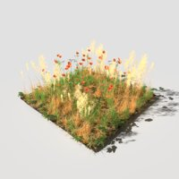 Poppy Meadow Patch and Free Gift