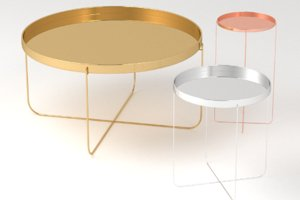tray table metal 3D model