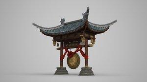 3D ancient architectural luxury