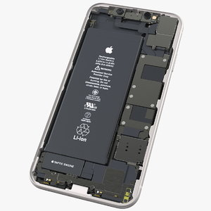 iphone 11 disassembled display 3D model