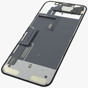3D model iphone 11 lcd display