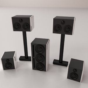 home set 3D model