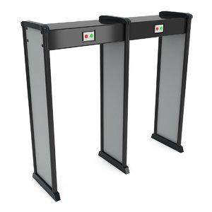 3D metal detector scanner safe