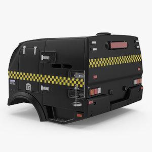 police paddy wagon 3D