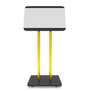 3D lcd screen stand trade
