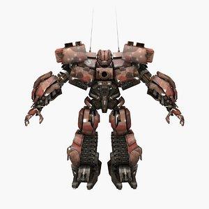 warpath transformation 3D model