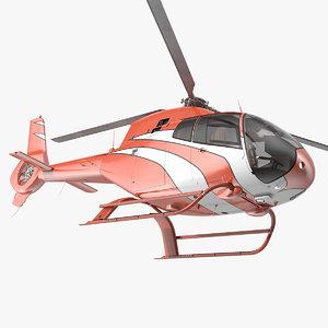 3D executive lightweight helicopter light