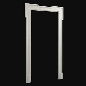 3D door frame 2
