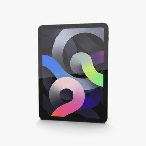 3D apple 2020 ipad model