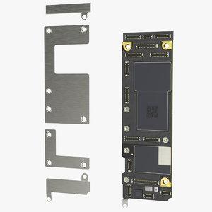 3D iphone 11 motherboard board model