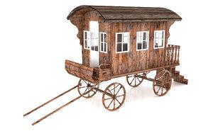 caravan 2 3D model