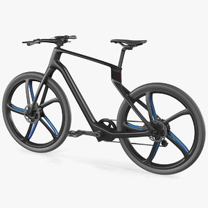 3D carbon electric road bicycle