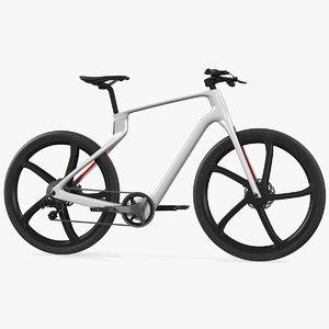 3D model carbon electric road bike