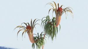 3D plant scifi model