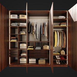 furniture wardrobe 3D model