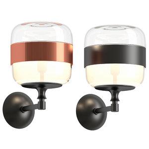 futura wall lamp 3D model
