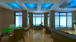 3D room luxury