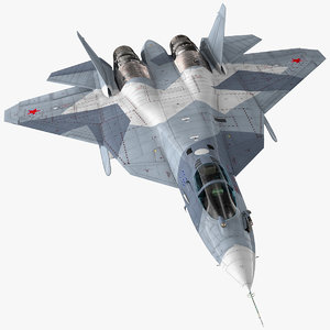 3D stealth multirole fighter su