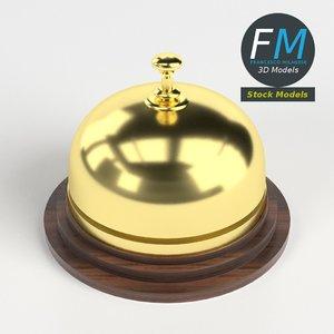 reception bell 2 3D