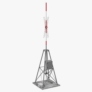 vts radio direction finder 3D model