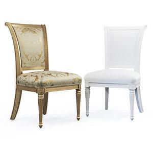 3D model alex dining chair