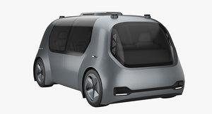 self-driving self driving 3D model