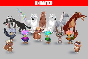 3D animations cartoon
