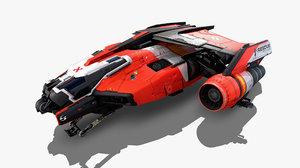 sf rescue ship model