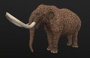3D mammut