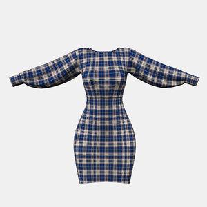 3D dress clothing fashion