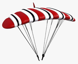 paragliding sport model