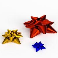 Star ribbons bows