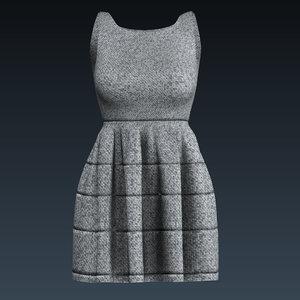 dress clothing apparel 3D model