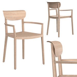 tivoli 2805 armchair 3D model