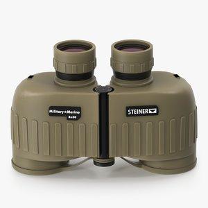 3D steiner binoculars model