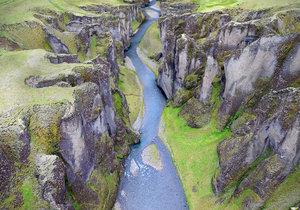 iceland canyon hd 3D model