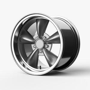 bullitt wheels 3D model