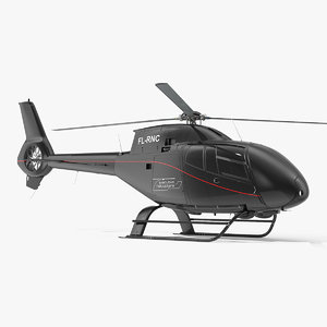 3D eurocopter ec120 colibri simple