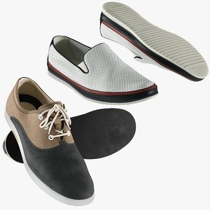 3D realistic shoes 35 collections