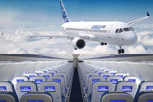3D airbus 320neo cockpit