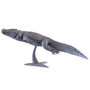 crocodile printing 3D model