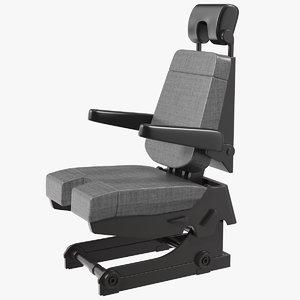 pilot seat model