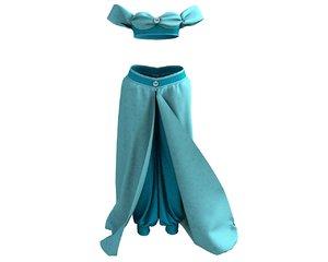 jasmine costume 3D model