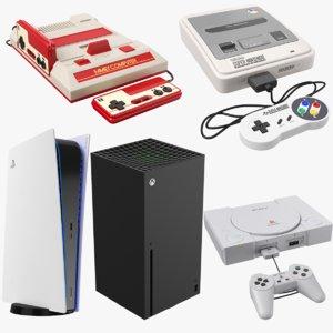 3D games consoles