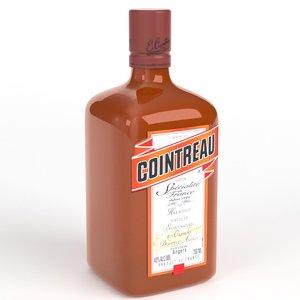 cointreau 3d model