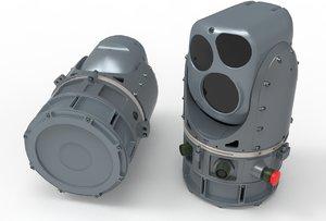 3D thermal vision camera militaty