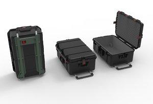 set box-military case 3D model